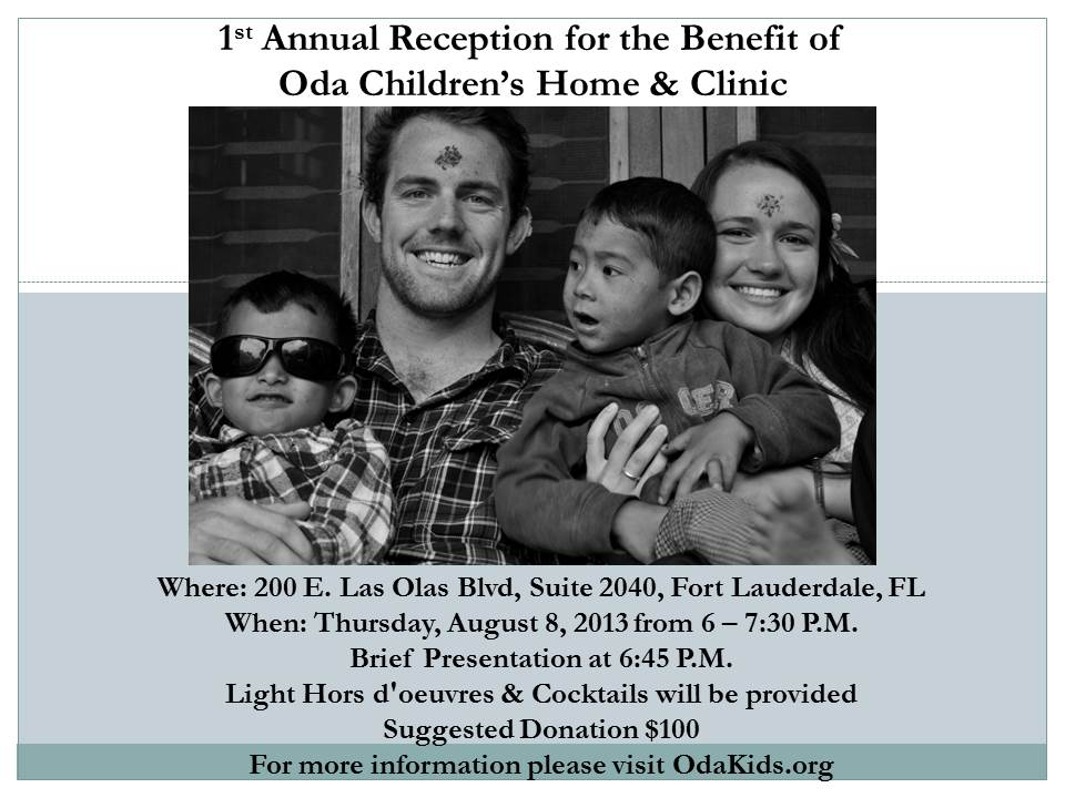 Please join us for our Fort Lauderdale OdaKids Benefit!